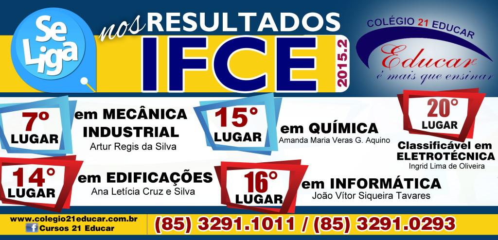 RESULTADOS IFCE 2015