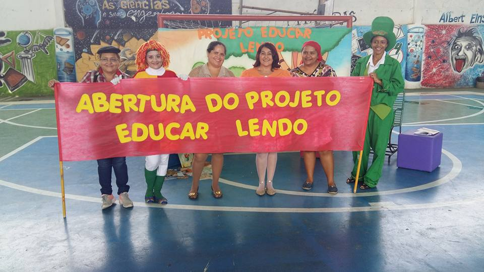 ABERTURA DO PROJETO EDUCAR LENDO